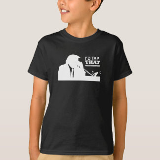 Je taperais que des T-shirts