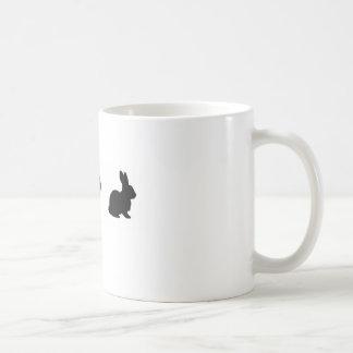 Je tasse de café aime lapins