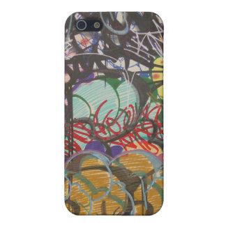 je téléphone le cas 4 par le mur de graffiti de Ri Coques iPhone 5