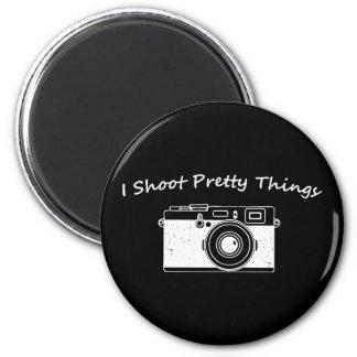 Je tire la jolie photographie de choses magnet rond 8 cm