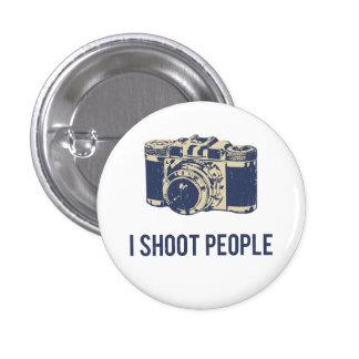 Je tire l'appareil-photo de photographie de person badge rond 2,50 cm