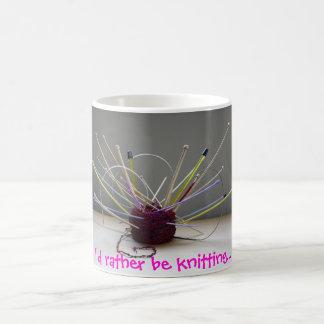 Je tricoterais plutôt… mug