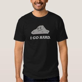 Je vais dur. Tee - shirt de roche T-shirts