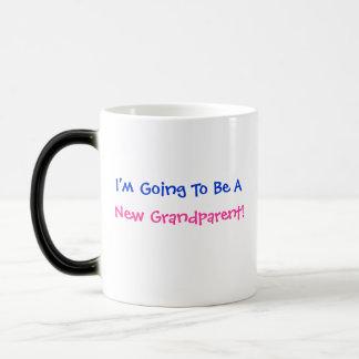 Je vais être A, nouveau grand-parent ! - Tasse