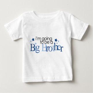 """""""Je vais être un frère """" T-shirt Pour Bébé"""