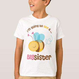 Je vais être une grande soeur t-shirt