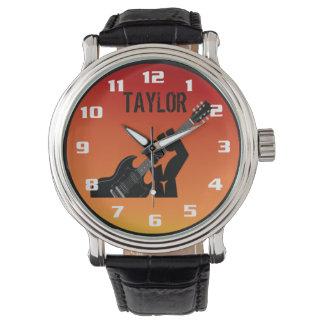 Je veux basculer le monogramme frais montres cadran