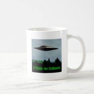 Je veux croire mug