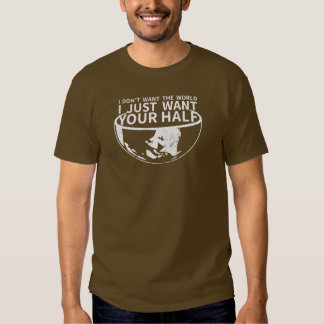Je veux juste votre demi de V2 T-shirts