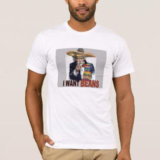 Je veux le T-shirt d'haricots