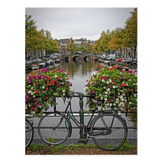 Je veux monter ma bicyclette à Amsterdam - carte