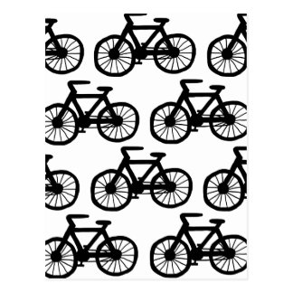 Je veux monter ma bicyclette carte postale