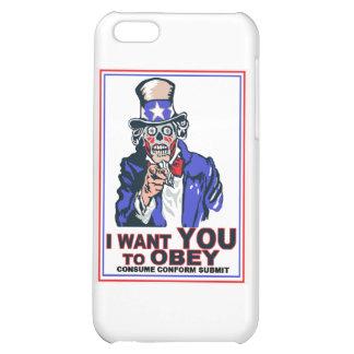 Je veux que vous OBÉISSIEZ ! Coques Pour iPhone 5C