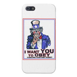 Je veux que vous OBÉISSIEZ ! iPhone 5 Case