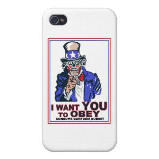 Je veux que vous OBÉISSIEZ ! Coques iPhone 4/4S