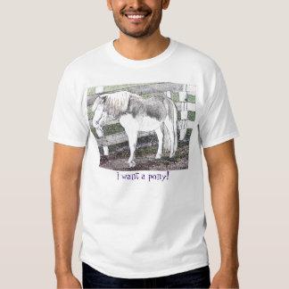 Je veux un poney ! T-shirt