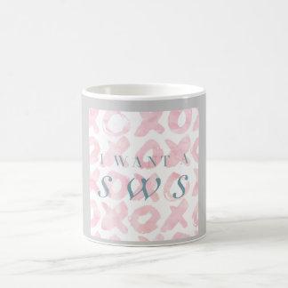 Je veux un Sws - tasse en pastel