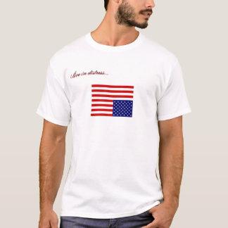 je vis dans la détresse… t-shirt