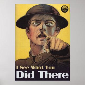 Je vois ce que vous avez fait là affiches