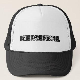 Je vois le casquette d'ÉLOGE de personnes d'ÉLOGE