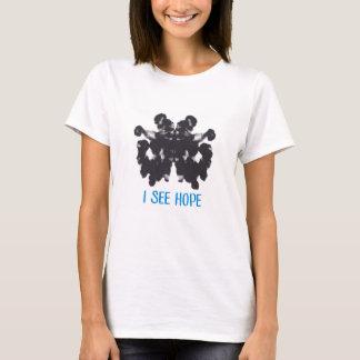 Je vois le T-shirt des femmes d'espoir