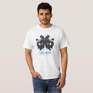 Je vois le T-shirt d'espoir
