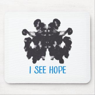 Je vois l'espoir Mousepad Tapis De Souris