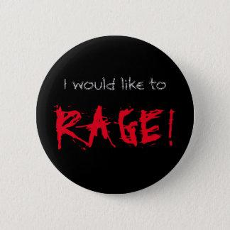 Je voudrais faire rage D&D barbare Pin's