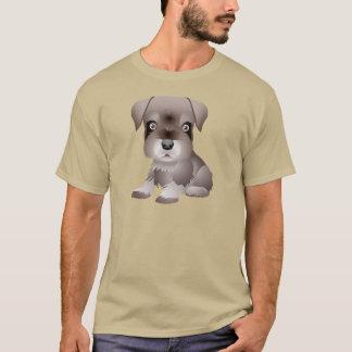 Je-voulez le T-shirt d'habillement de chiot de