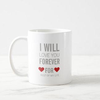 Je vous aimerai pour le reste de ma tasse de la