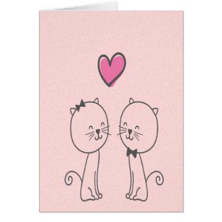 Je vous aimerai toujours carte de vœux