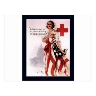 Je vous appelle à la camaraderie dans le Cross~WW Cartes Postales