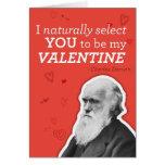 Je vous choisis naturellement être mon Valentine - Carte De Vœux
