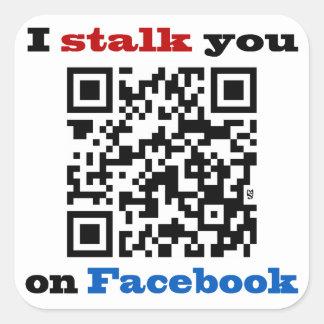 Je vous égrappe sur le code de Facebook QR Stickers Carrés