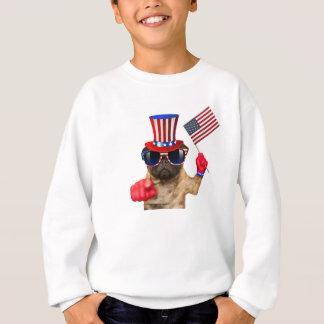 Je vous veux, carlin, chien d'Oncle Sam, Sweatshirt