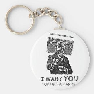 Je vous veux pour l'armée de hip-hop porte-clés