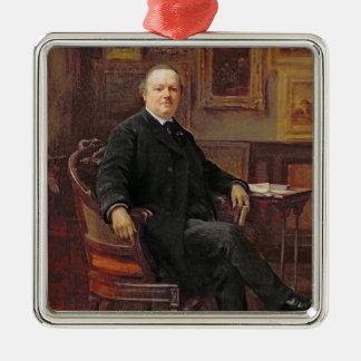 Jean-Baptiste Foucart 1894 Ornement Carré Argenté