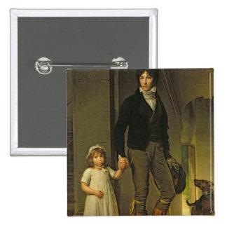 Jean-Baptiste Isabey et sa fille Badge