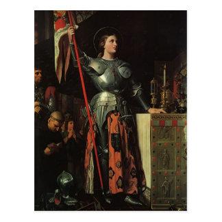 Jean Dominique Ingres- Jeanne d'Arc Carte Postale