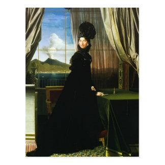 Jean Ingres- Caroline Murat reine de Naples Carte Postale