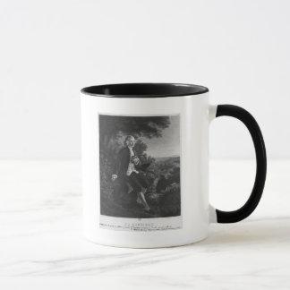 Jean-Jacques Rousseau composant 'Emile Mug