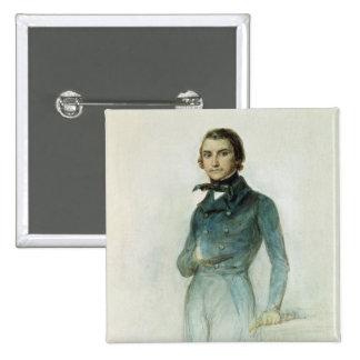 Jean Joseph Louis Blanc 1835 Pin's Avec Agrafe