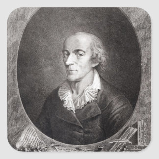 Jean Marie Roland de La Platiere Sticker Carré