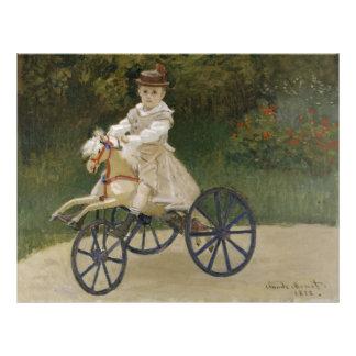 Jean Monet sur son cheval de passe-temps Prospectus