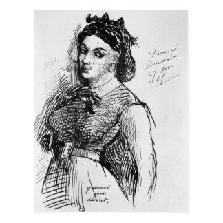 Jeanne Duval, 1865 Carte Postale