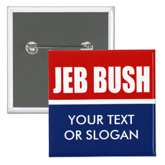 JEB BUSH 2012 BADGES