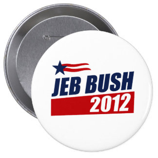JEB BUSH 2012 PIN'S