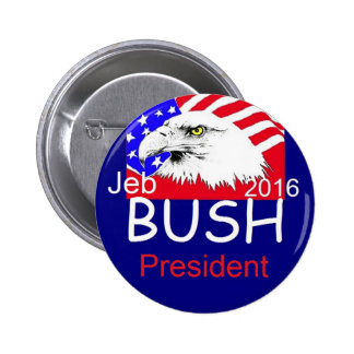 Jeb Bush 2016 Badge