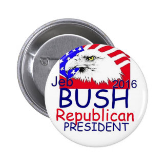 Jeb Bush 2016 Badges