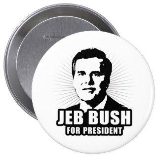 Jeb Bush pour le président Badges